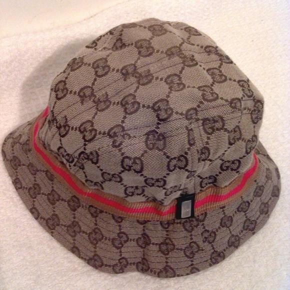 6b6fcd9a Gucci Accessories   Bucket Hat Sizes   Poshmark